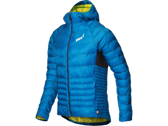 inov-8 Veste Thermoshell Pro zip complet Homme, blue/yellow